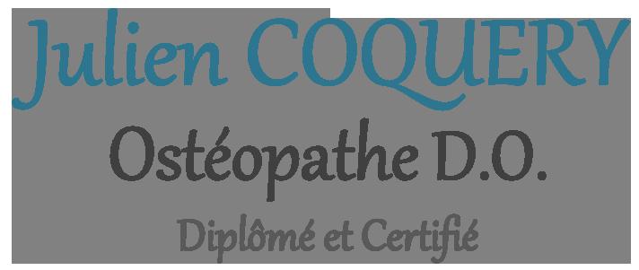 Julien Coquery Ostéopathe DO à Mérignac et Vayres - 33