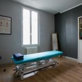 Salle consultation cabinet ostéopathie de Vayres 33870